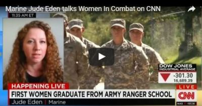 Jude Eden talks Women Graduating from Ranger School
