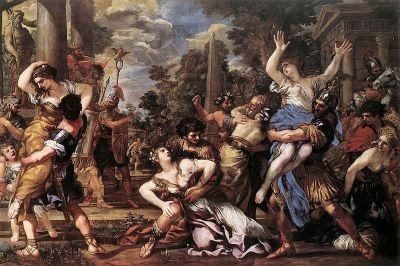 Pietro de Cortona, Rape of the Sabine Women